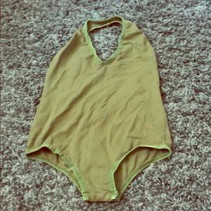 Leotard M forest green. Angl . Just like New